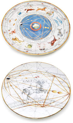 Laboratorio Paravicini Sagittarius Set-of-Two Dessert and Dinner Plate