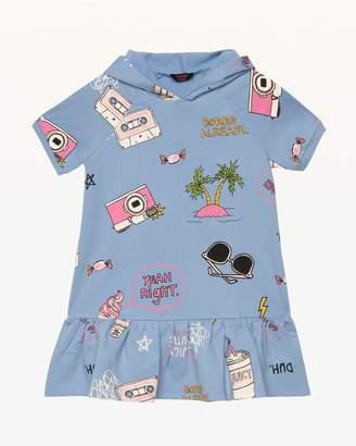 Juicy Couture Beach Doodle Fleece Dress for Girls