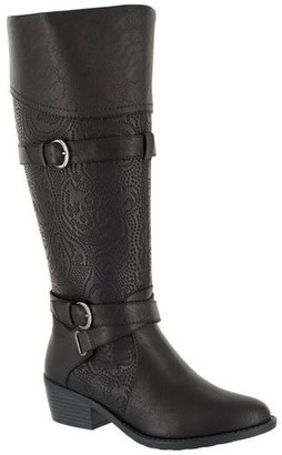 Easy Street Shoes Wide-Calf Tall Boots - Kelsa Plus