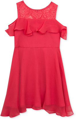 Rare Editions Off-The-Shoulder Chiffon Dress, Toddler & Little Girls (2T-6X) $48 thestylecure.com