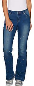 Peace Love World Studded Flare Denim Jeans