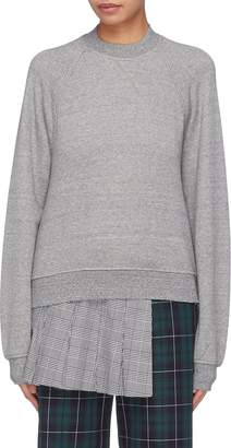 Sandy Liang 'Lex' drawstring open back sweatshirt