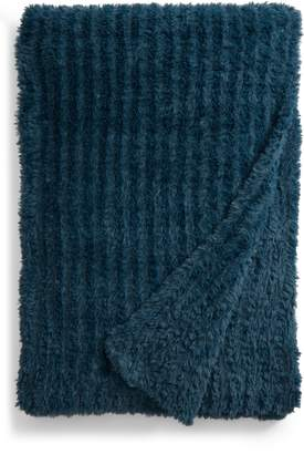 Nordstrom Lazy Days Faux Fur Throw Blanket
