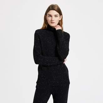 Cashmere Mock Neck Pullover