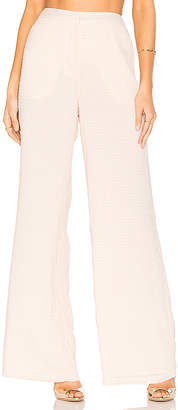 House of Harlow 1960 x REVOLVE Mona Pants in Pink $130 thestylecure.com