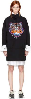 Kenzo (ケンゾー) - Kenzo 限定エディション ブラック タイガー スウェットシャツ ドレス