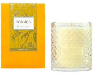 Agraria Golden Cassis Woven Crystal Candle/7 oz.