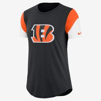 Nike Team Fan (NFL Bengals) Women's Tri-Blend T-Shirt