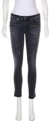 R 13 Kate Mid-Rise Jeans