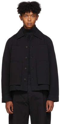 Craig Green Black Line Stitch Worker Jacket