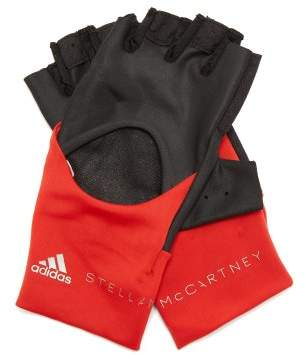 adidas by Stella McCartney Fingerless Training Gloves - Womens - Black Multi