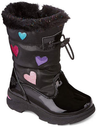 totes Toddler Girls Mindy Water Resistant Winter Boots Strap