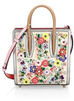Christian Louboutin Women's Paloma Floral Embellished Top Handle Bag