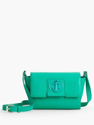 Talbots Pebble Leather Crossbody Bag