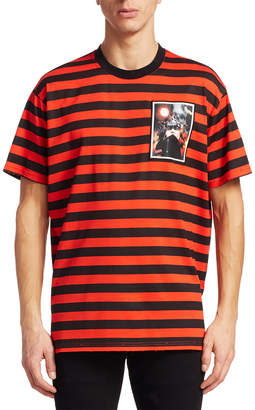 Givenchy Graphic Stripe T-Shirt
