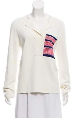 Celine Long Sleeve Woven top