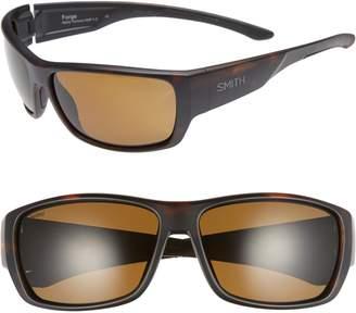 Smith Crusader 53mm ChromaPop(TM) Polarized Round Sunglasses