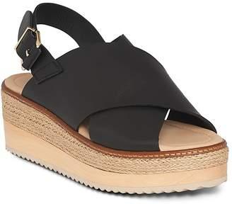 Whistles Rafi Leather Flatform Sandals