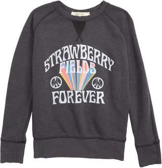 Junk Food Clothing Strawberry Fields Sweatshirt