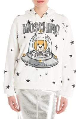 Moschino Space Bear Hoodie