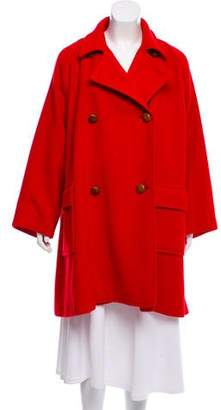Isaac Mizrahi Knee-Length Oversize Coat