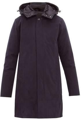 49 Winters - Dual Layered Hooded Nylon Parka - Mens - Navy