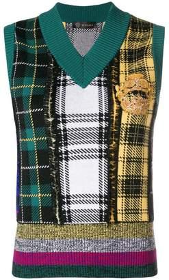 Versace sleeveless pullover