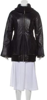 Marc Jacobs Bell Sleeve Leather Jacket