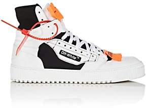 Off-White Men's 3.0 Leather & Canvas Sneakers-White