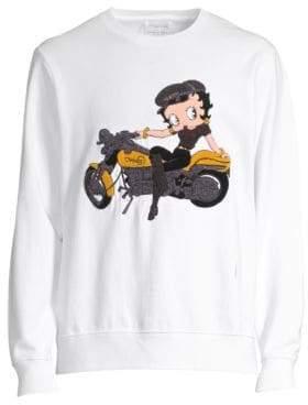 Ovadia & Sons Betty Boop Cotton Sweatshirt