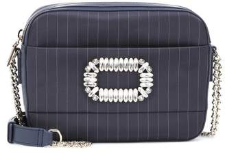 Roger Vivier Photocall striped shoulder bag