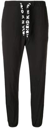 DKNY drawstring waist trousers