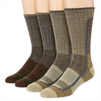 Columbia 4-pk. Cotton Blend Color Block Crew Socks