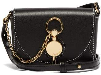 J.W.Anderson Keyts Mini Leather Cross Body Bag - Womens - Black