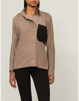 Vivienne Westwood Squiggle Krall cotton shirt