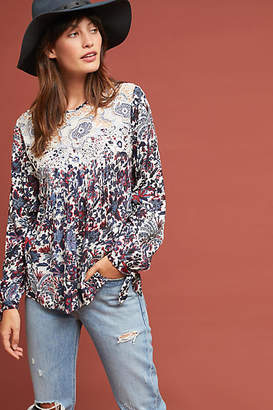 Ranna Gill Madison Floral Blouse