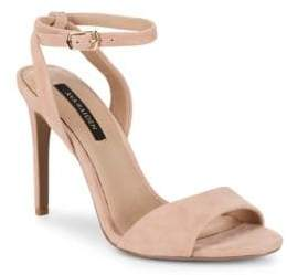 Ava & Aiden Suede Ankle-Strap Sandals