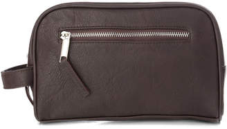 D.E.P.T Franck Provost The Barb 'Xpert Hanging Travel Leatherette Toiletry Bag
