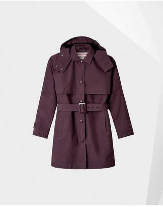 Hunter Womens Refined Mid-Length Trench Coat