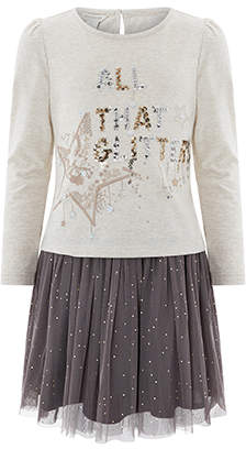 Monsoon All That Glitters Top And Skirt Set