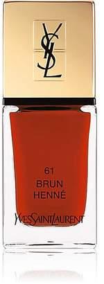 Saint Laurent Women's La Laque Couture Nail Polish - 61 Brun Henne