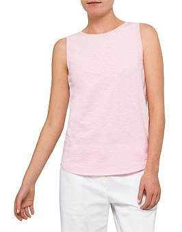 David Jones Cotton Slub Tank