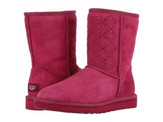 UGG Classic Short Crystal Diamond Women's Cold Weather Boots