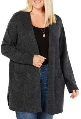 Style&Co. Style & Co. Plus Open Front Cardigan