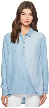 MinkPink Wrapped Up Shirt Women's Clothing