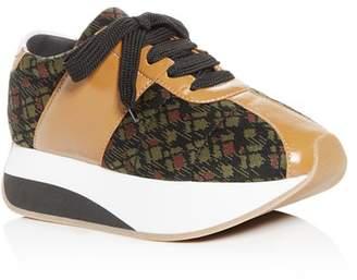 Marni Women's Lace-Up Platform Sneakers