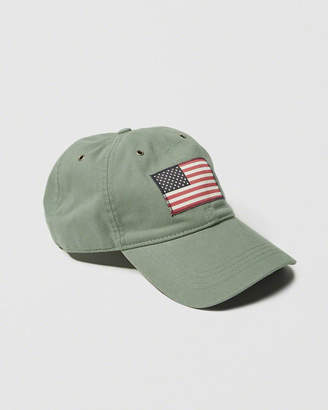 Abercrombie & Fitch USA Flag Hat