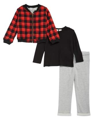 Pippa Little Brother by & Julie x Disney(R) Mickey Mouse(R) Reversible Bomber Jacket, T-Shirt & Pants Set