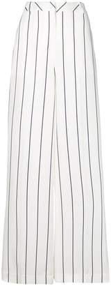 Ki6 striped palazzo trousers