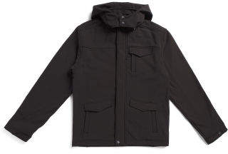 Big Boys Hooded Soft Shell Jacket